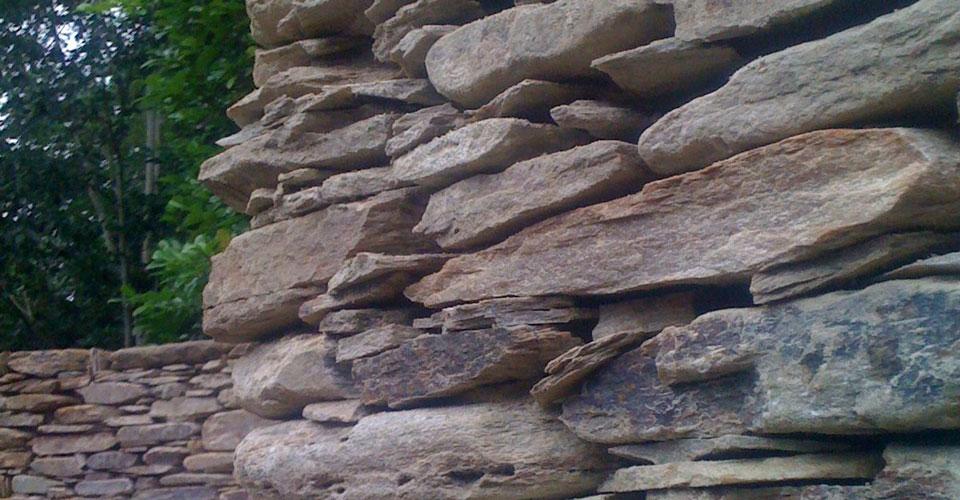 Bishops Stone Wall