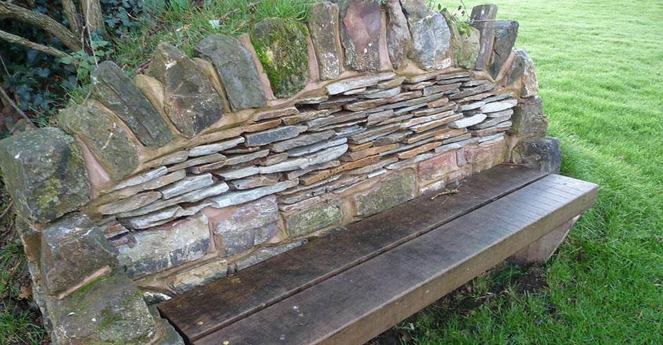 Sten Farm Stone Bench