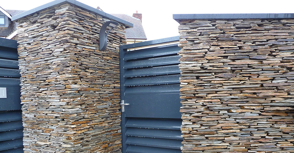 Sten Farm Stone Walling and Gate