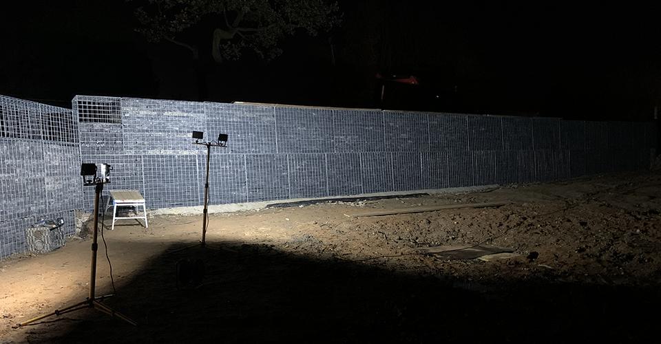 Gabion Walls - A Work in Progress